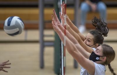 A-3 district volleyball, 10.27