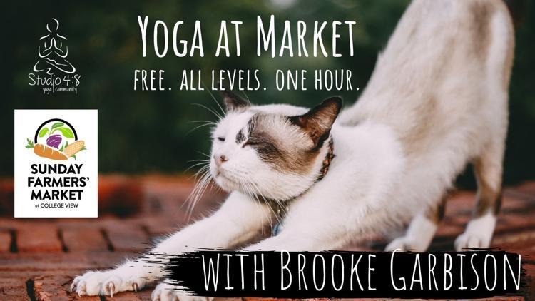 Yoga at the Market with Brooke Garbison