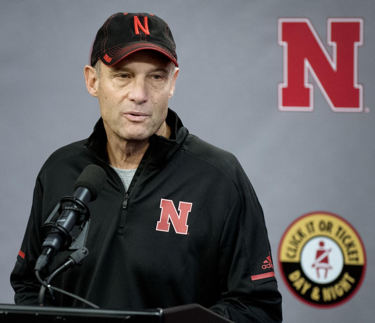 Nebraska football news conference, 11/25/17