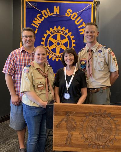 South Rotary donates $1K to Cub Scouts