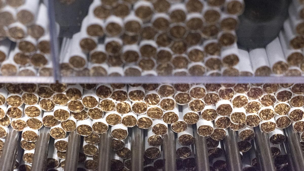 Cigarette factory