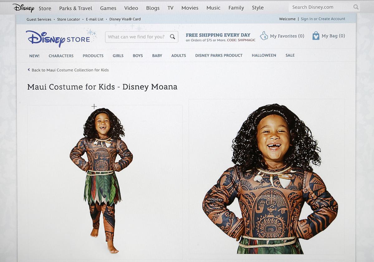 disney polynesian costume
