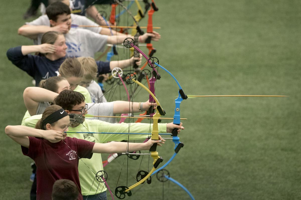 Archers in NASP tournament