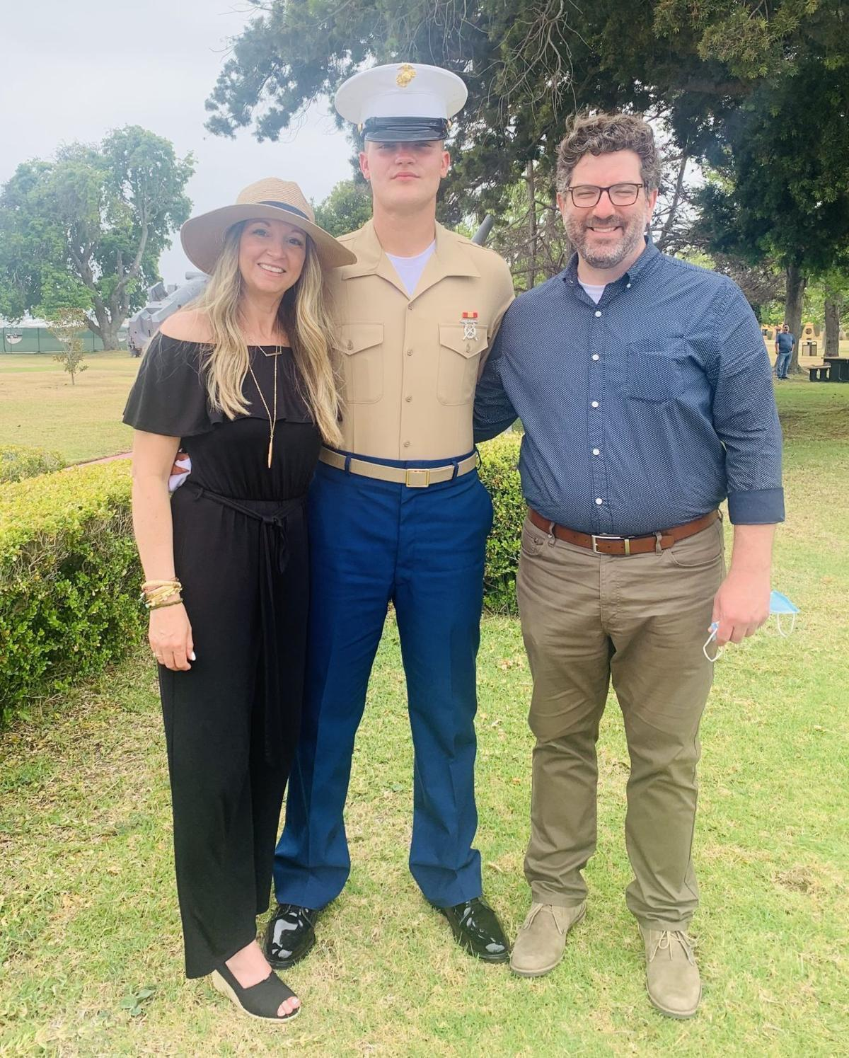 Mom, Marine's video of happy reunion goes viral