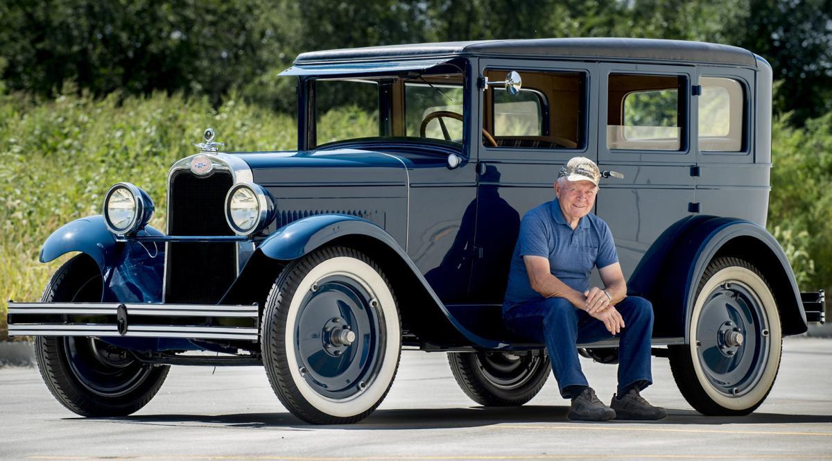 Restored 1928 Chevrolet, 9.11.18