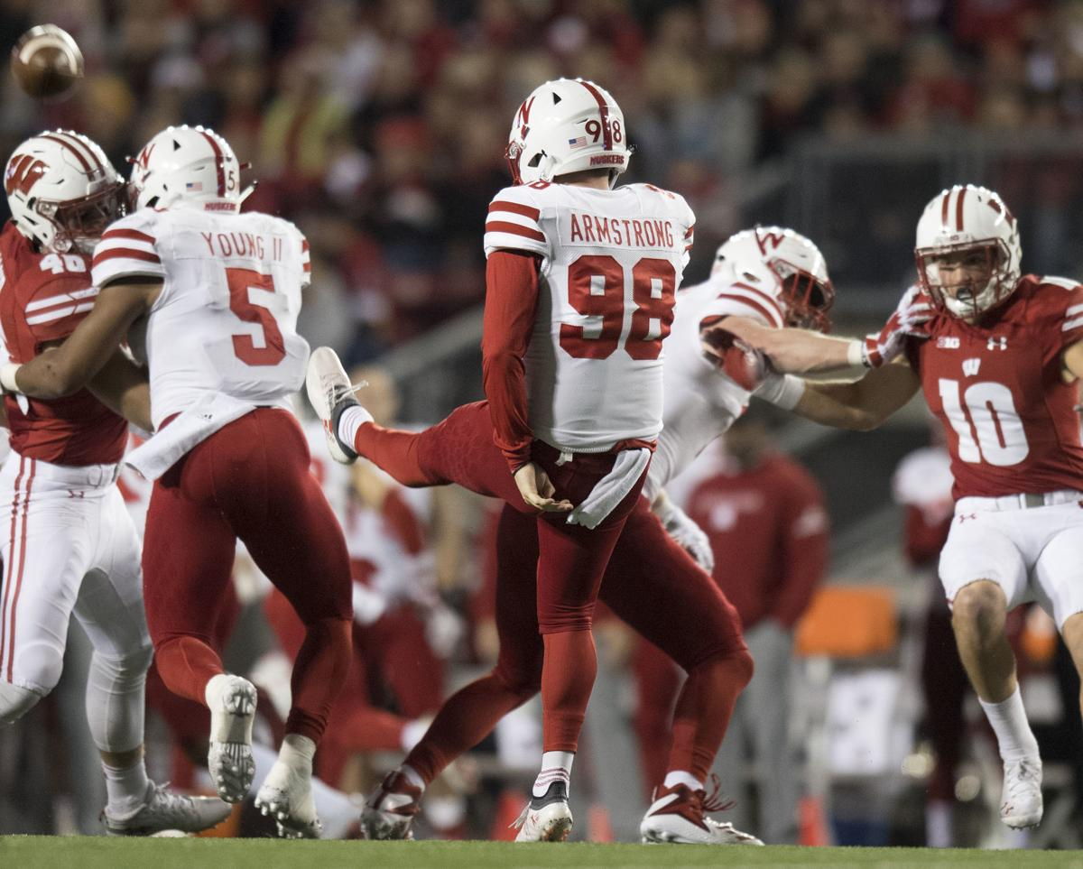 Nebraska vs. Wisconsin, college football, 10.6.18