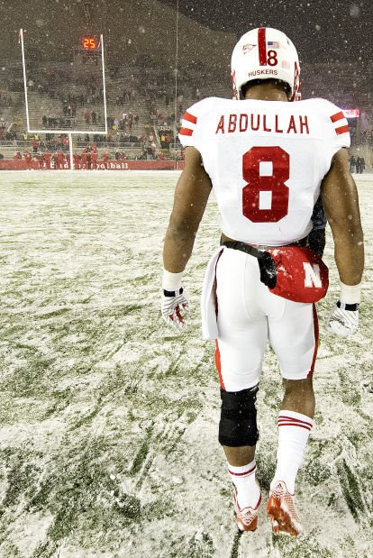 new styles 58717 4cdab Abdullah runs with mixed results | Football | journalstar.com