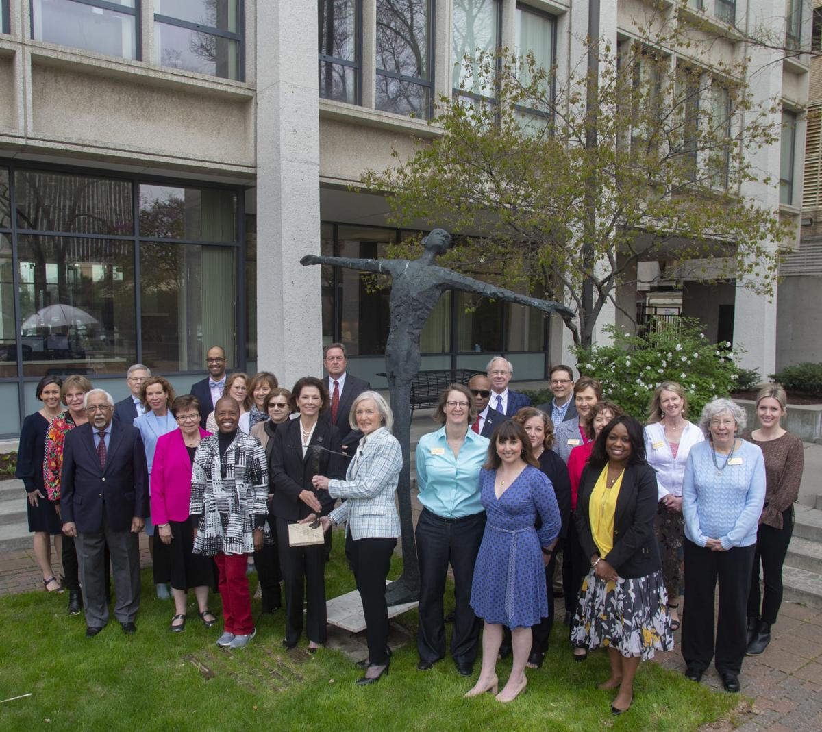 Charity Award presentation in LCF Garden