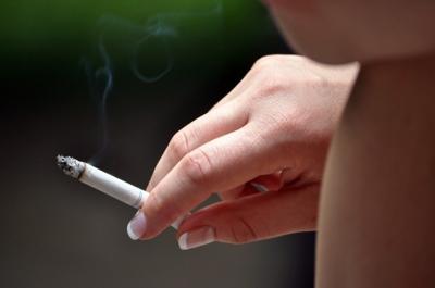 Smoking in parks
