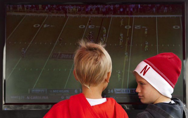 Nebraska vs. Northwestern football, 11.5.2011 3