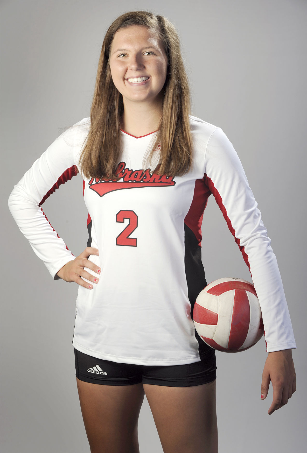 Volleyball Hard Hitting Freshman Foecke Making Early Impact Volleyball Journalstar Com