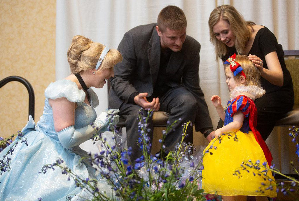 Wish kid with Cinderella