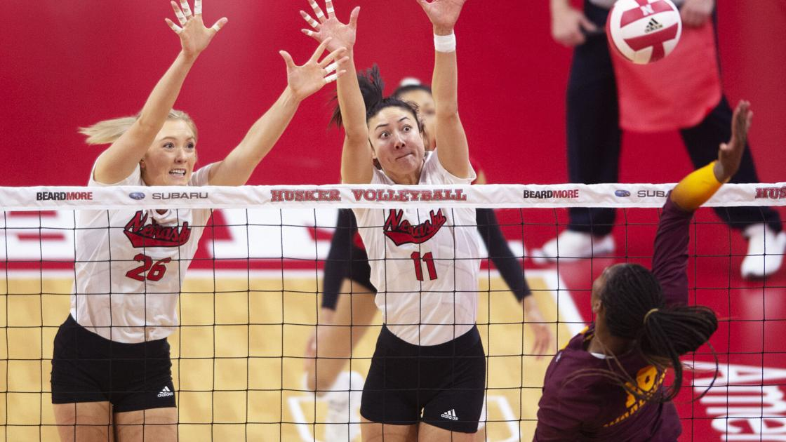 'A different energy': Two days after defeat, No. 4 Nebraska makes adjustments to sweep No. 5 Gophers - Lincoln Journal Star