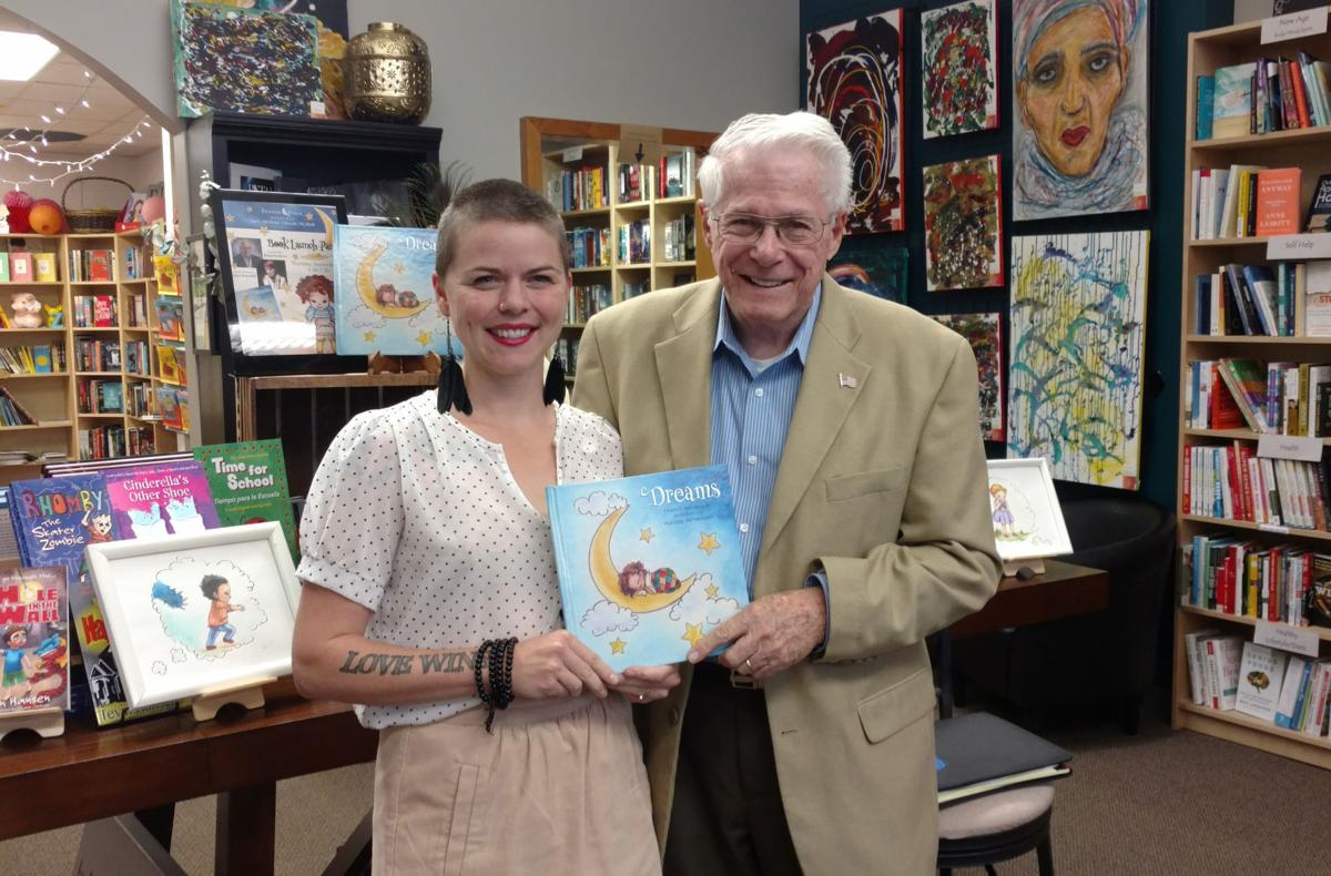 Author and illustrator host book signing for 'Dreams'