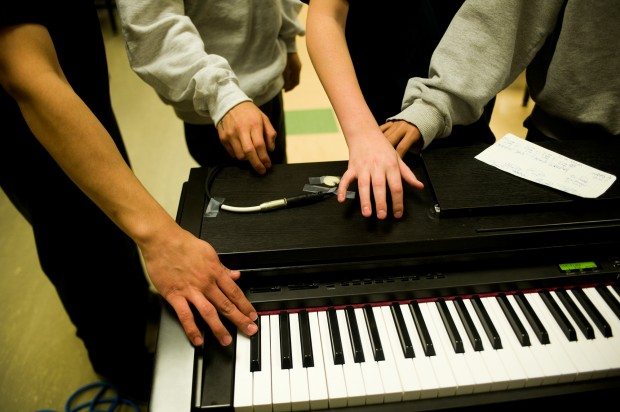 Detention Pianist 11.14.2012