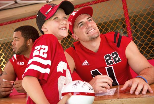 Nebraska Football Fan Day, 8.3.12