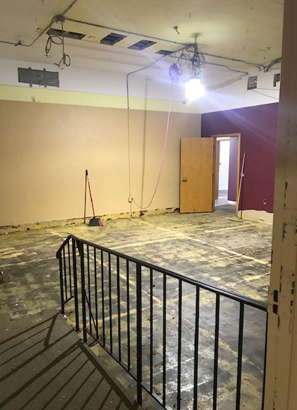 Former meeting room