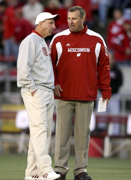 Bret Bielema Nebraska >> Steven M Sipple On Second Thought Bielema Is Similar To Bo