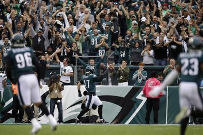Jets Eagles Football