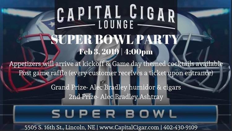 Capital Cigar Lounge Super Bowl Party 2019