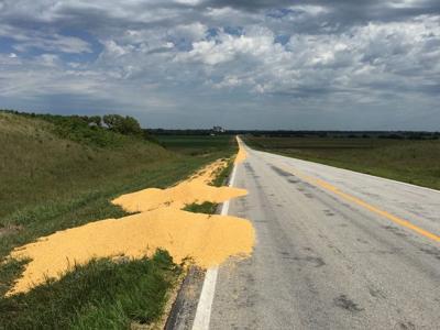 Corn dump