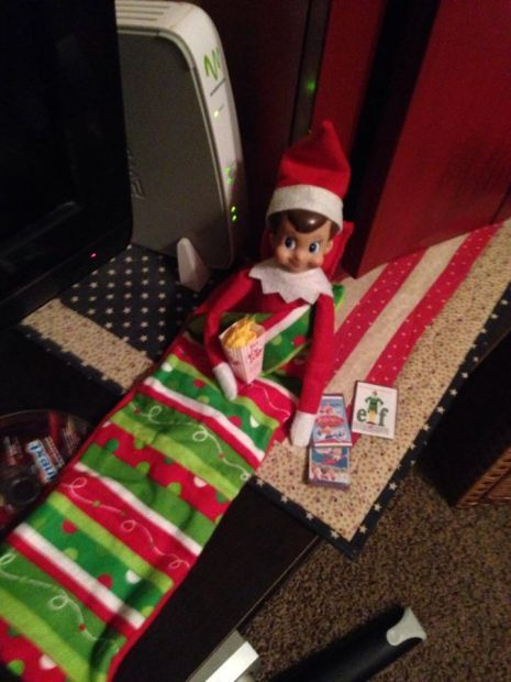 plot your elf on the shelf s nighttime antics with these ideas rh journalstar com