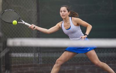 Girls Prep Tennis 4.15
