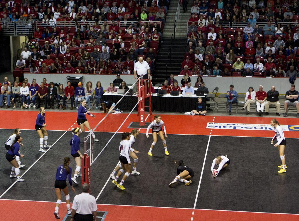 Volleyball, Kansas State vs. Nebraska, 4.25.15