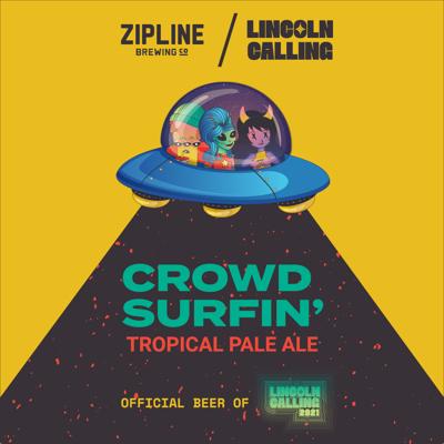 crowd surfin' tropical pale ale