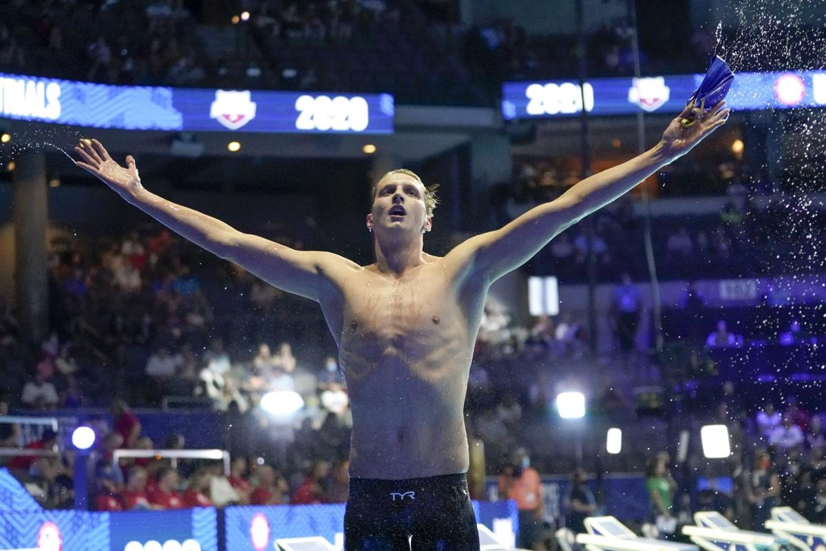 APTOPIX US Swimming Olympic Trials