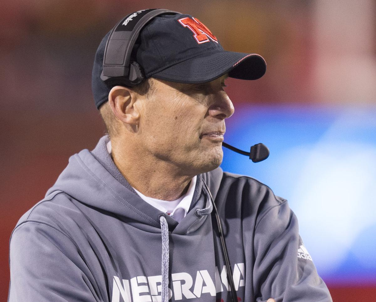 Riley Out As Nebraska Coach Moos Says Table Is Set For
