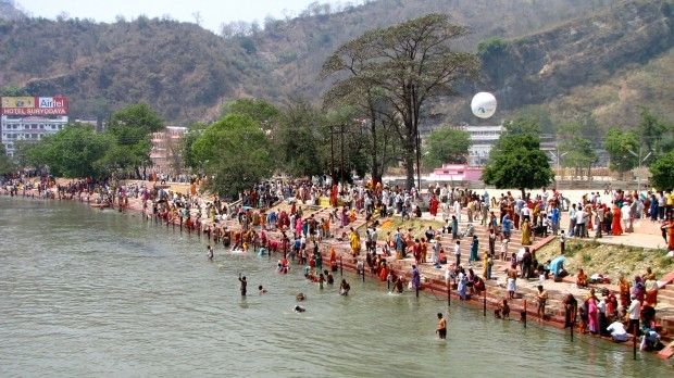 Banks of the Ganges River