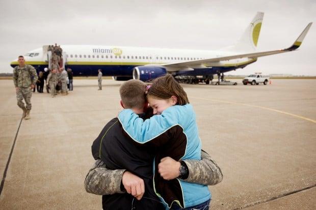 National Guard homecoming