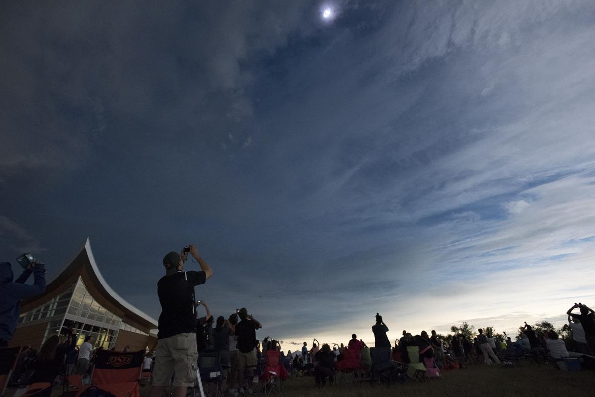 Homestead National Monument eclipse
