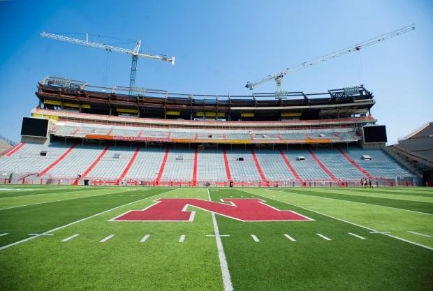 East Stadium Construction 8.27.2012