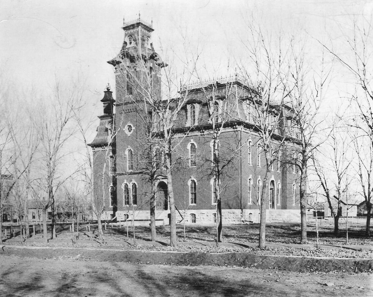 Lincoln High School in 1897