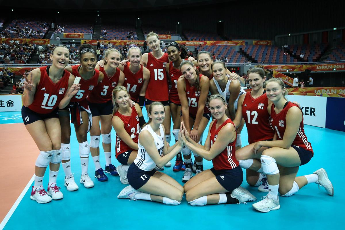 National Volleyball Team Ends Fivb World Championship With Win Volleyball Journalstar Com