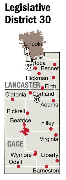 Legislature District 30 map
