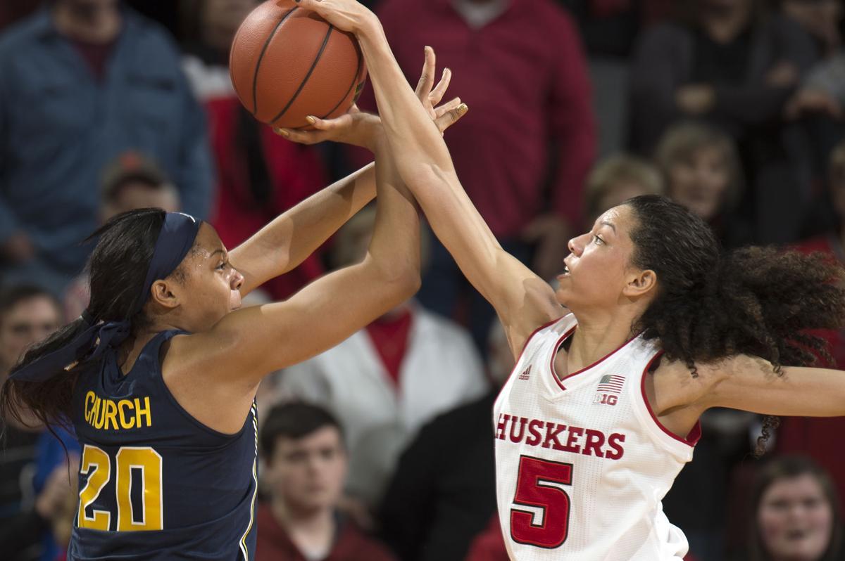 Michigan vs. Nebraska women, 1/13/18