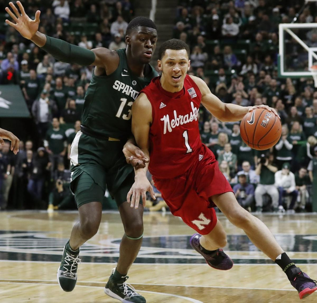 Nebraska Michigan St Basketball