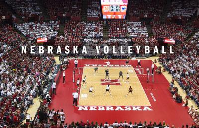 Nebraska volleyball logo 2019