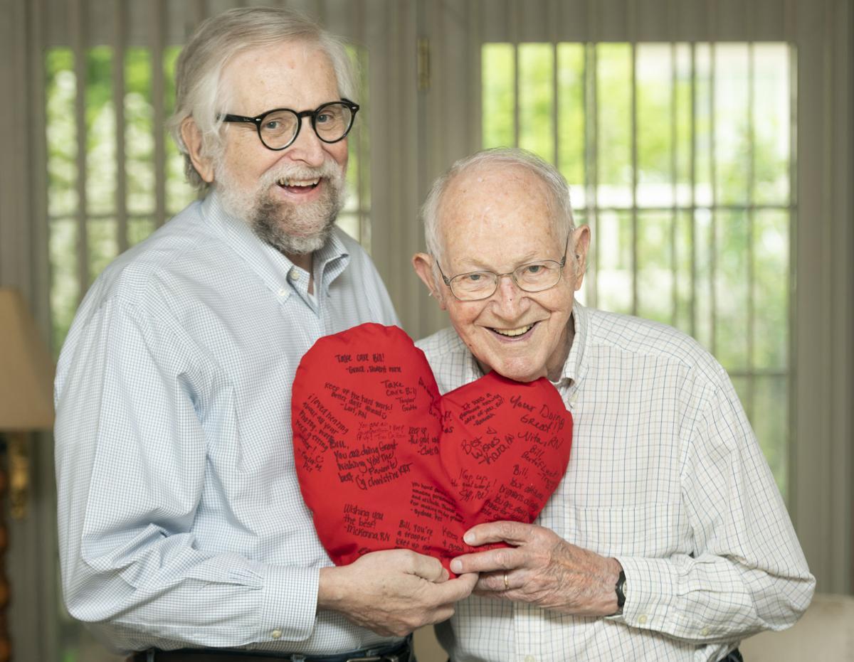 Heart pillows, 5.5