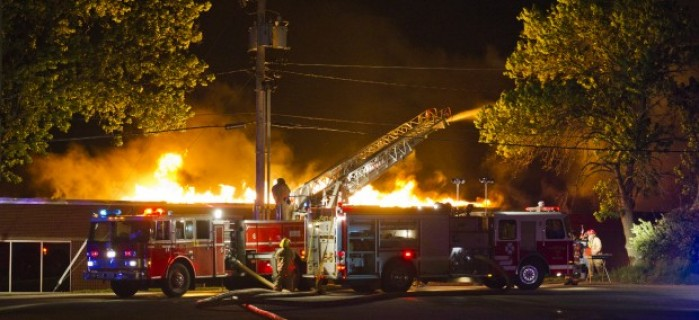 Fire Destroys Lps District Offices Lincoln Ne Journal Star