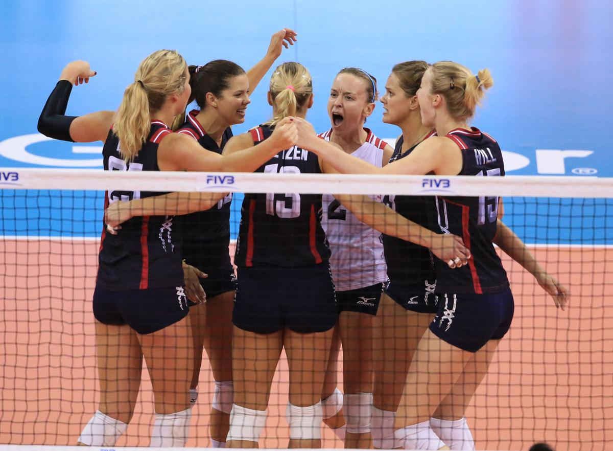 Usa Volleyball In Lincoln U S Has Rare Chance To Clinch