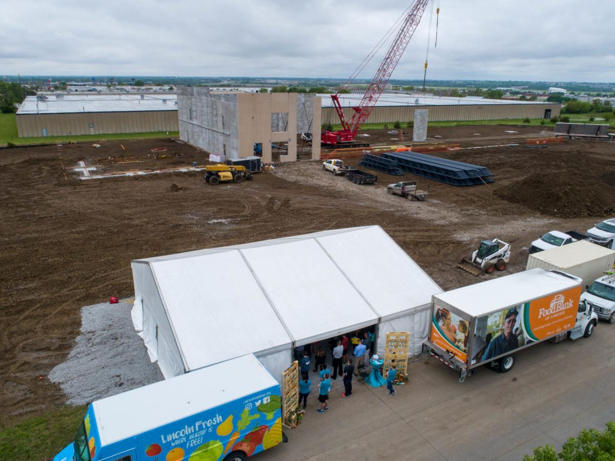 Food Bank aerial