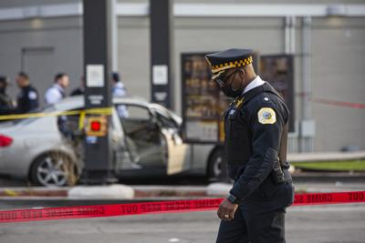 APTOPIX McDonalds Shooting Girl Killed
