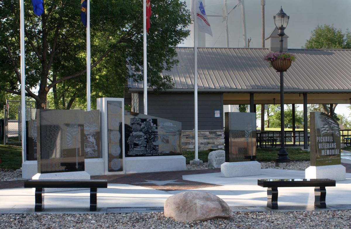 Pickrell Veterans Memorial
