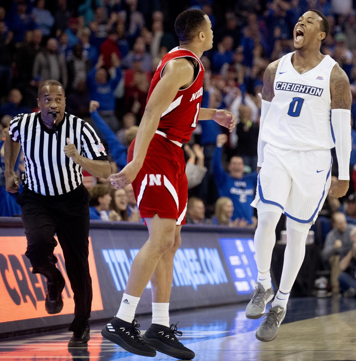 Nebraska vs. Creighton, 12/9/17