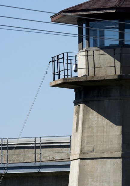 Pulley on Guard Tower