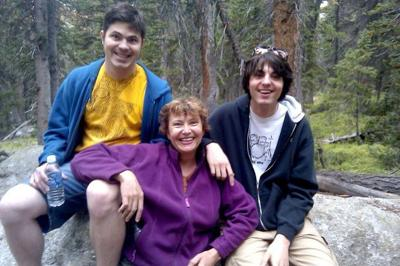 Zach, Shelley and Cameron Freeman